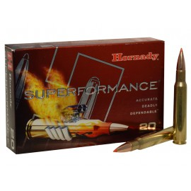 MUNICION HORNADY C/30-06 SST 165 GR. (SUPERFORMANCE)