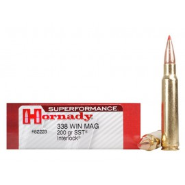 HORNADY 338 WIN MAG 200 GR SUPERFORMANCE