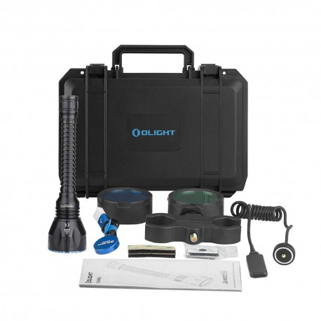 Linterna Olight KIT DE CAZA JAVELOT PRO 2,100 LUM